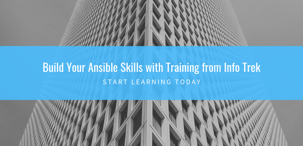 Red Hat Ansible training and certification