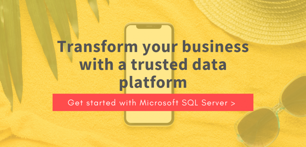 Get started with Microsoft SQL Server.
